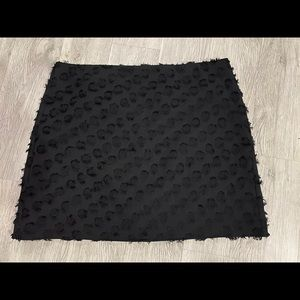 LOFT black mini skirt